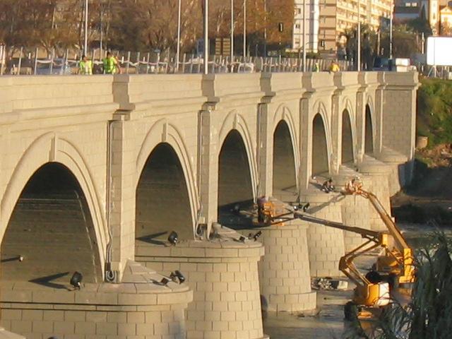 Reparación Puente San Rafael